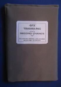 Traumapack für ballistische Schutzweste vorn , Fa.: Second-Chance , Typ : GFX