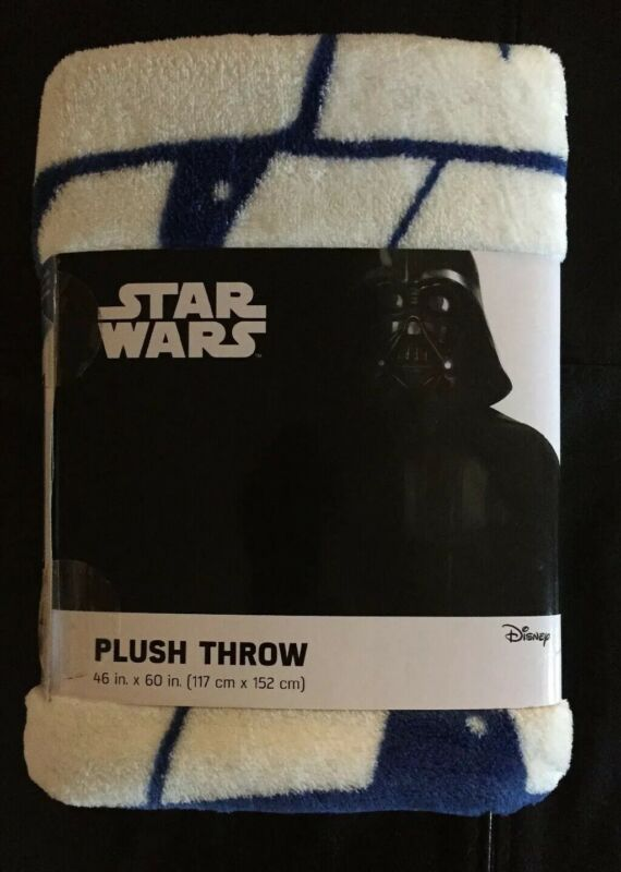 NEW Star Wars Kids Super Soft Plush Fleece 46 x 60 Bedding Throw Blanket
