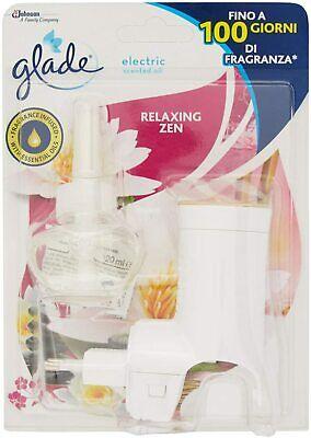 Glade Diffusore di Oli Essenziali Elettrico Fragranza Relaxing Zen con Ricarica