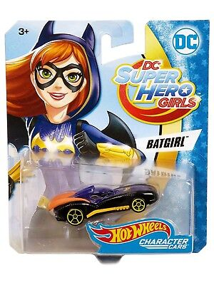 Hot Wheels DC Comics Superhero Girls Batgirl Vehicle - Hot Superhero Girls