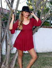 Unbranded Long Sleeve Extra Short, Micro Mini Dresses