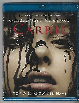 Carrie (Blu-ray & DVD, 2014, 2-Disc Set) Brand New Sealed Chloe Grace Moretz