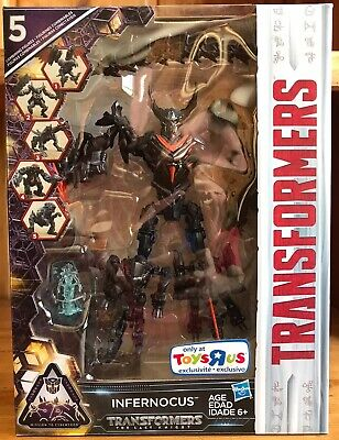 Transformers The Last Knight TLK Mission To Cybertron Toys R Us TRU Infernocus