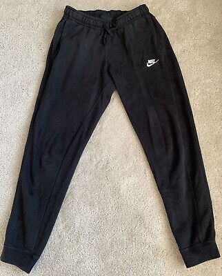 Mens Nike Black Jogging Bottoms/Joggers/Sweatpants - Size Small