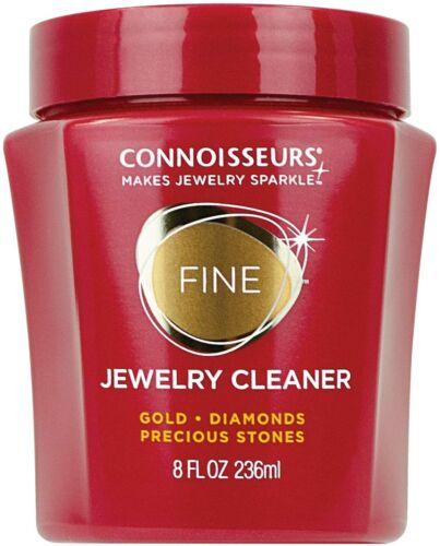 Connoisseurs Precious Jewelry Cleaner, 8 Fl Oz Gold Diamonds Precious Stones