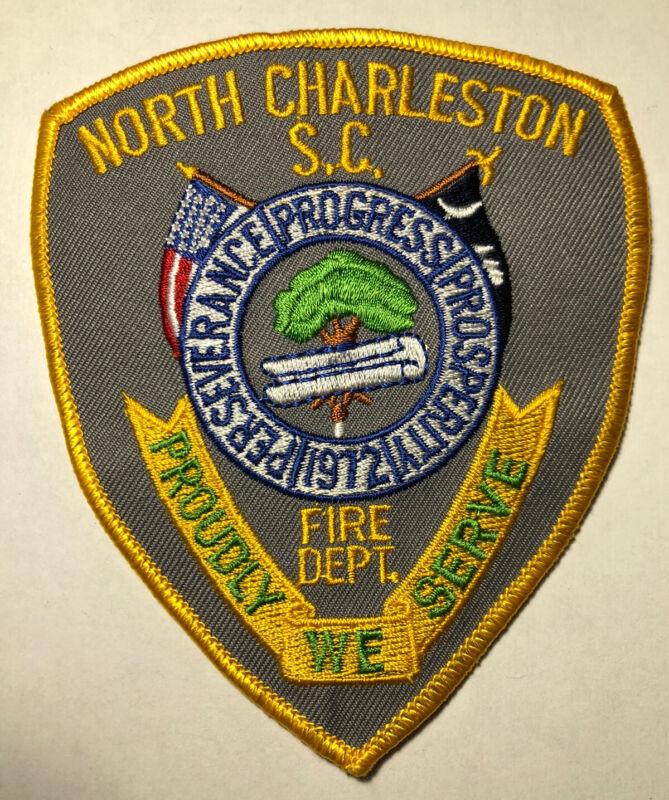 North Charleston South Carolina Police Patch