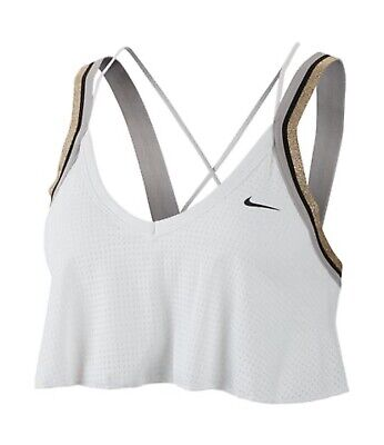 $50 NEW NIKE INDY JERSEY GLAM WOMEN LIGHT SUPPORT SPORT TRAINING BRA BV4897 S Nike Stretch Jersey