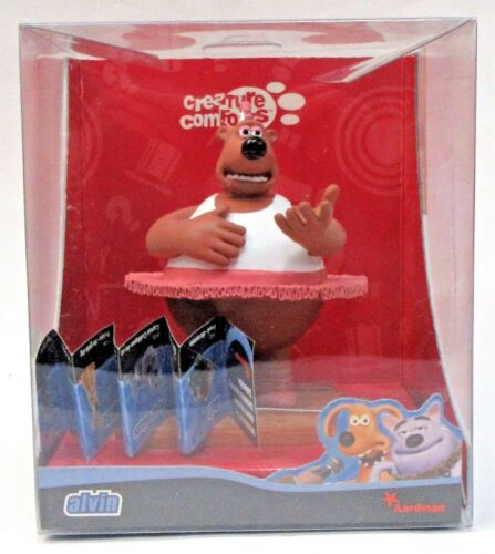 ALVIN THE DANCING BEAR Aardman Creature Comforts resin cast animation figure MIB