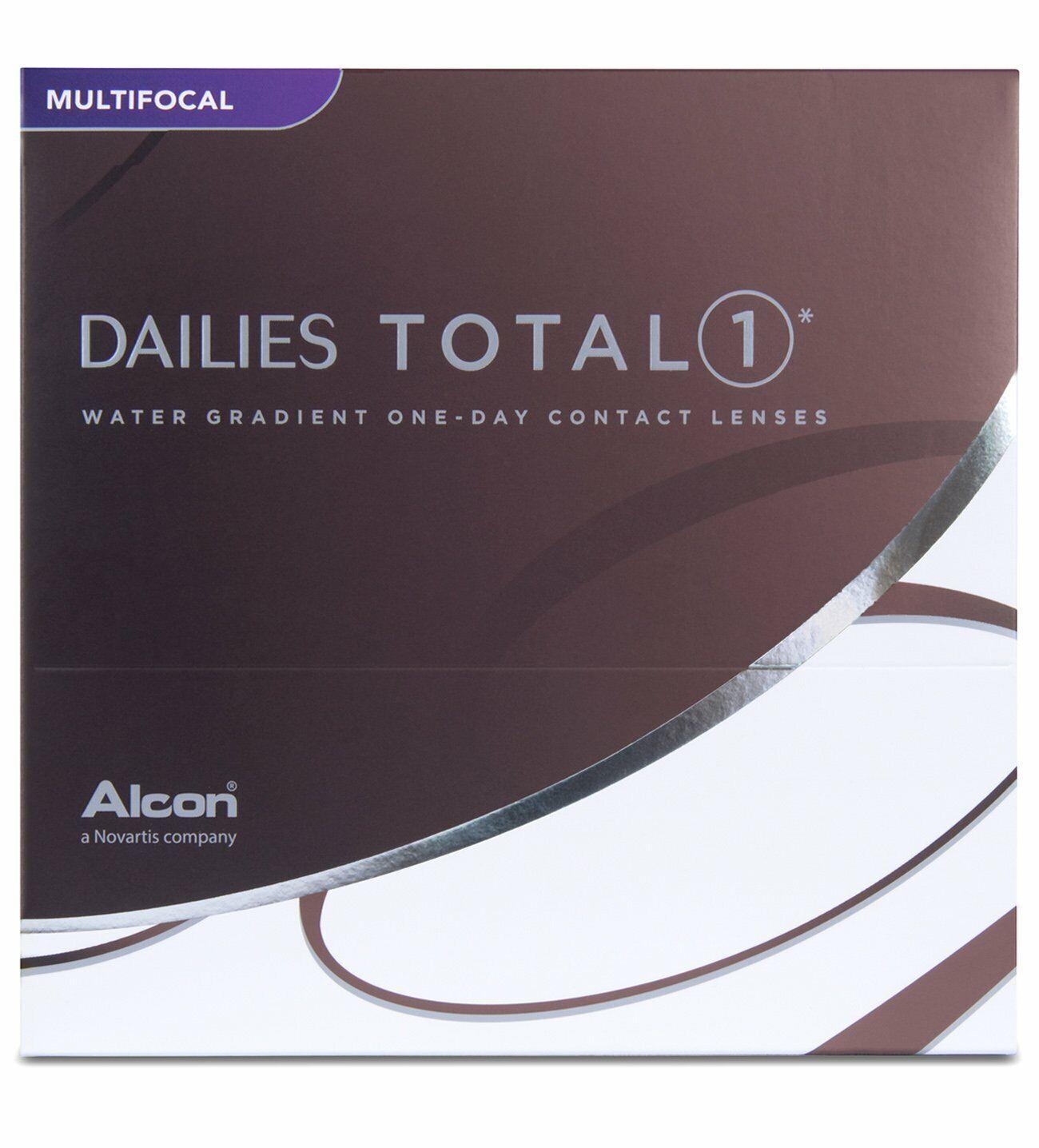 DAILIES TOTAL 1 MULTIFOCAL 1x90 KONTAKTLINSEN TAGESLINSEN ADD LOW / +0.25 Dioptr