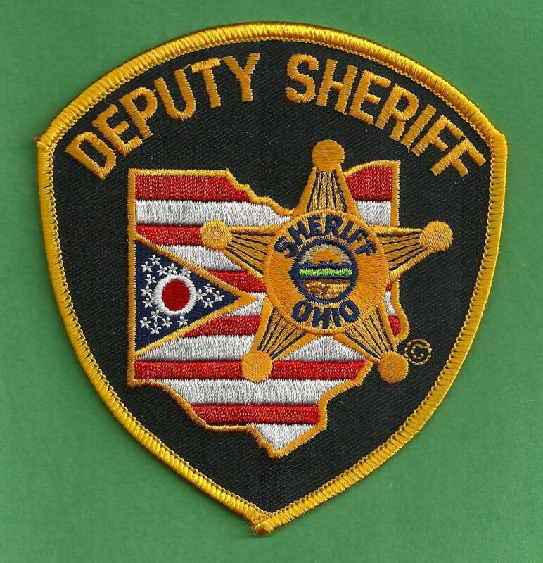 STATE OF OHIO DEPUTY SHERIFF POLICE PATCH