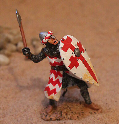 KING AND COUNTRY KNIGHTS CRUSADERS MK46 TOY SOLDIERS   BRITAINS