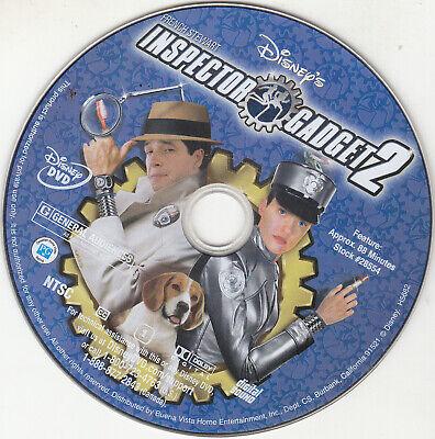 Inspector Gadget 2 (DVD, 2003) DISC ONLY