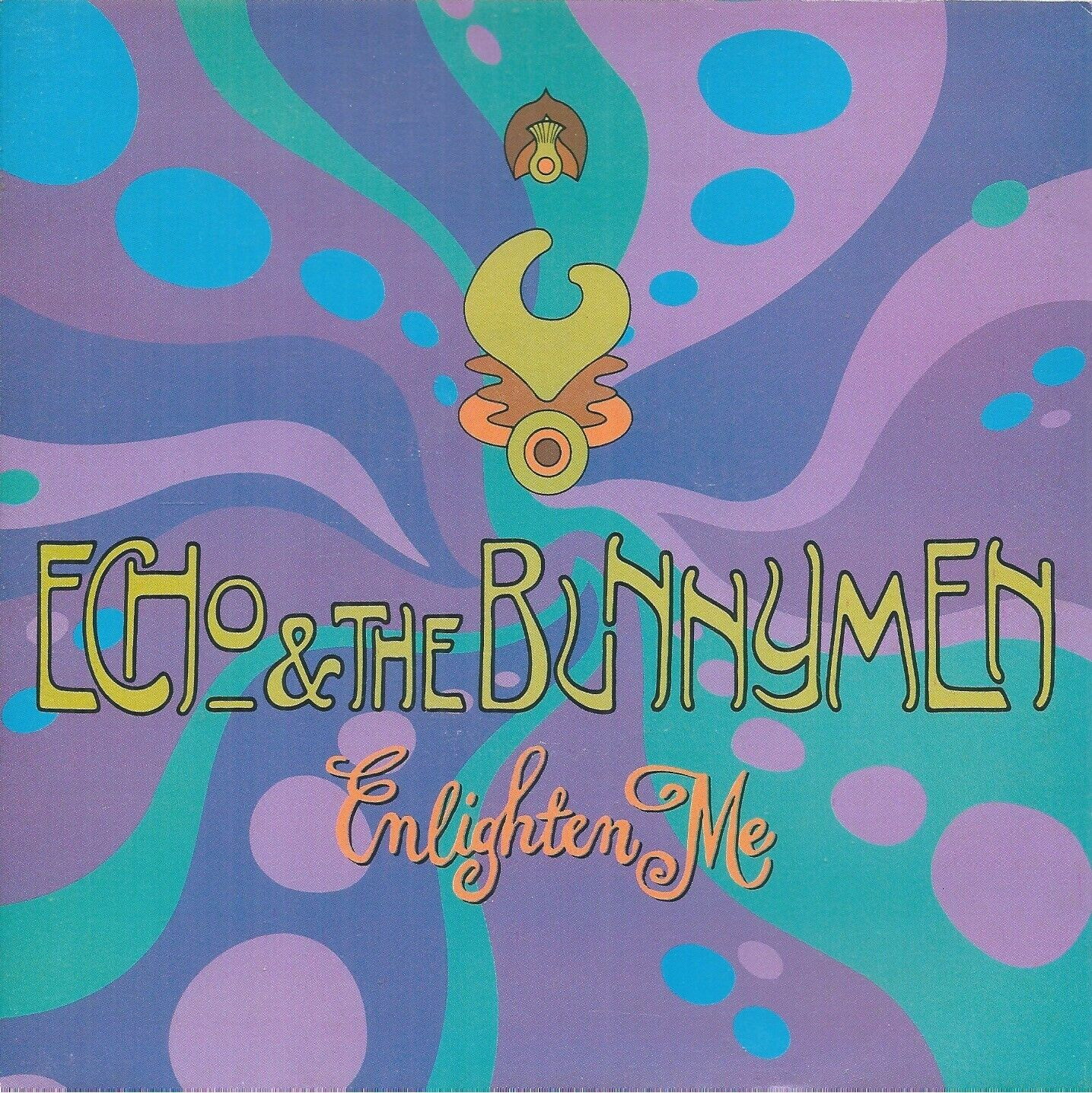 "Echo & The Bunnymen – Enlighten Me  7"" Vinyl 45rpm P/S Ex Con"
