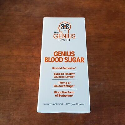 Genius Blood Sugar Support Berberine HCL Better Insulin Sensitivity Keto