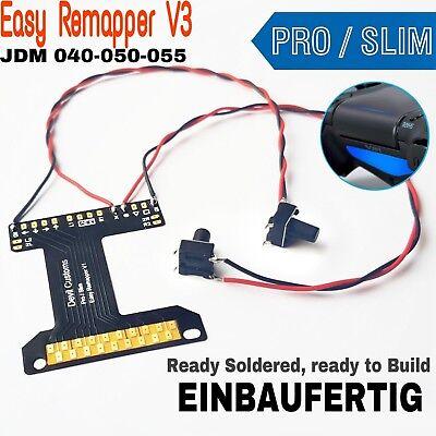 PS4 SLIM PRO Easy Remapper V3 / EINBAUFERTIG GELÖTET / MOD CHIP / JDM-040-50-55