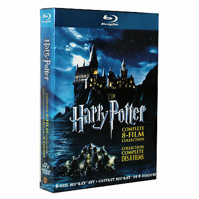 Harry Potter: Complete 8-Film Moive Collection (Blu-ray Disc, 2011, 8-Disc Set)