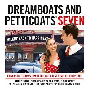 Dreamboats And Petticoats 7 Walkin' Back To Happiness 2 CD Set 1950s 1960s Hits