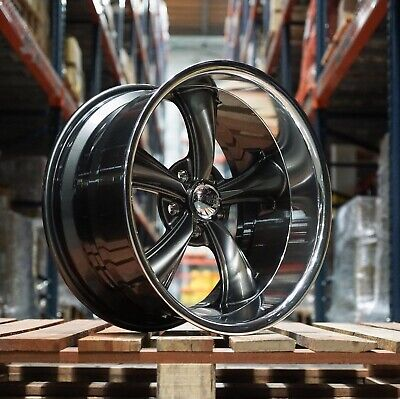 2) 20X8.5/2) 20X10 338 BOSS/ AMERICAN RACING GM CHEVY TRUCK 5 ON5 BP STAGGERED