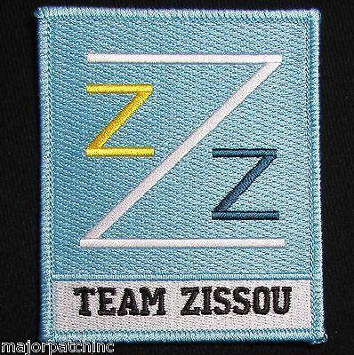 THE LIFE AQUATIC TEAM ZISSOU LOGO EMBROIDERED HALLOWEEN COSTUME IRON ON PATCH - The Life Aquatic Costume