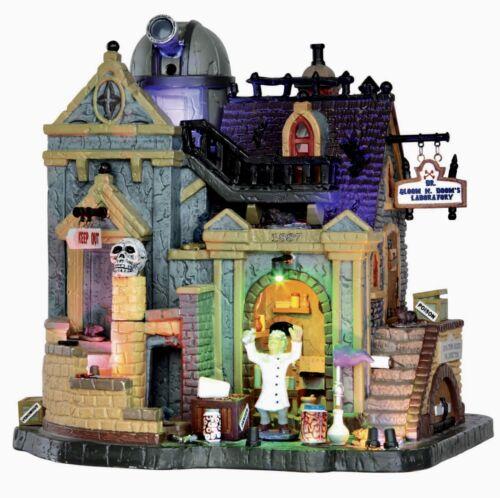 Lemax Spooky Town Dr. Gloom N. Doom's Laboratory #35493 BNIB