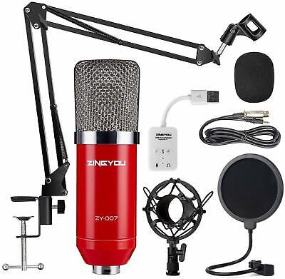 HOT TWITCH MIC STREAMING MICROPHONE PODCAST EQUIPMENT KIT YOUTUBE CHANNEL
