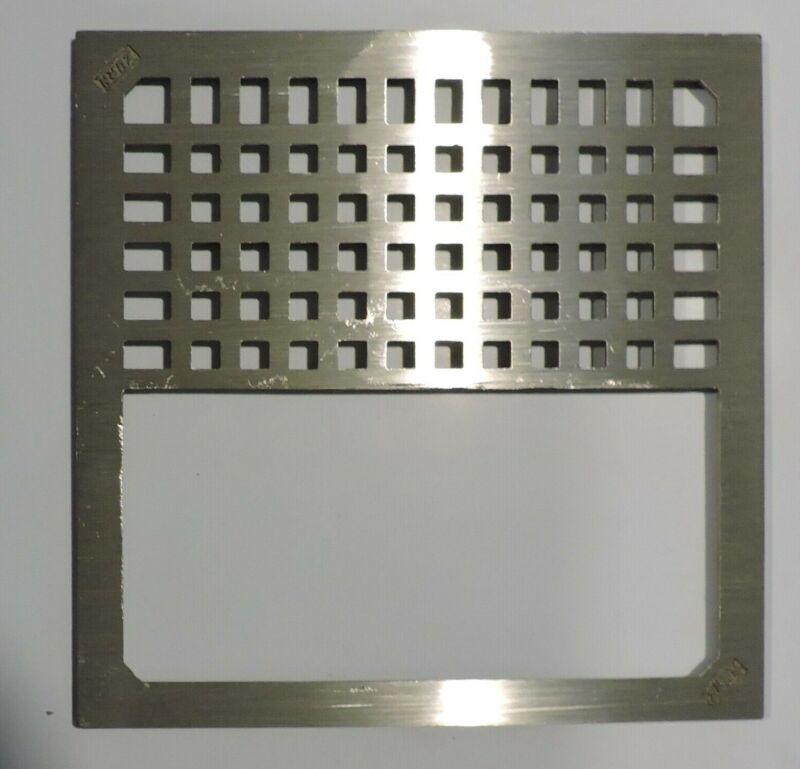 Zurn 67107-005 Nickel Bronze Half Grate Floor Drain