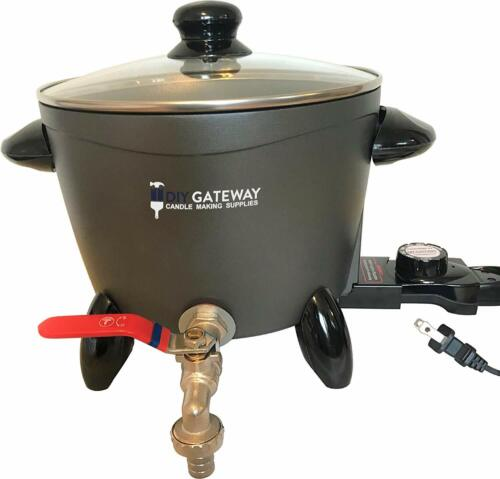 Wax Melter for Candle Making, Large Electric 10 LB Wax Melting Pot Machine