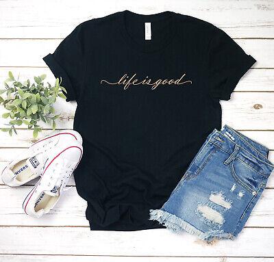 Life is Good Custom Womens T shirts Tee  Shirt New ()