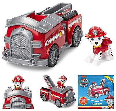 Paw Patrol Fire Dog (Paw Patrol Marshall's Vehicle Fire Truck Pup Figure Рescue Тeam Dalmatian)