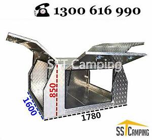 LAST 2 LEFT | ute tray Aluminum Canopy-service body toolbox camp Clayton Monash Area Preview