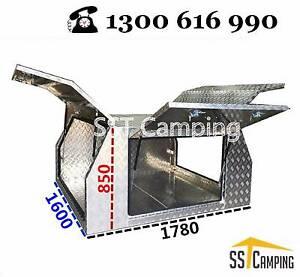 LAST 3 LEFT   ute tray Aluminum Canopy-service body toolbox camp Clayton Monash Area Preview