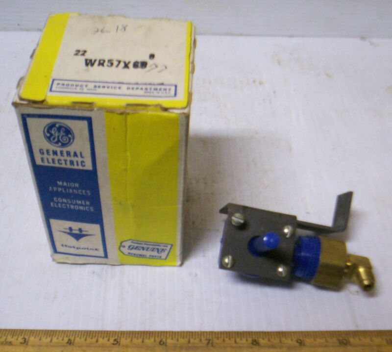 Vintage General Electric - Water Valve Assembly - GE P/N: WR57X69  (NOS)