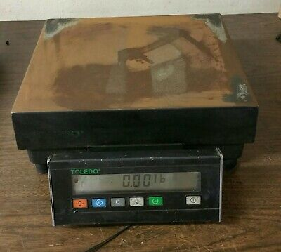 Used Mettler Toledo Scale Model 1938 100lb60kg Capacity 0.02 Reliability