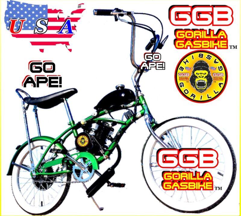 "2-STROKE 66CC/80C MOTORIZED BIKE KIT ENGINE KIT WITH 20"" LOW RIDER BICYCLE"