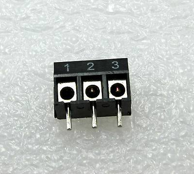 10 Pcs 3-way 3 Pin Screw Terminal Block Connector 5mm Pitch Panel Pcb Mount