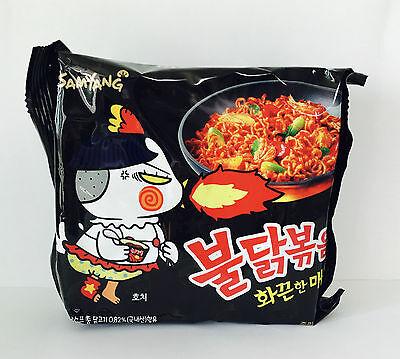 1pc Samyang Buldak Bokkeum Myeon Very Hot Spicy Delicious Korean Noodle 4404SHU