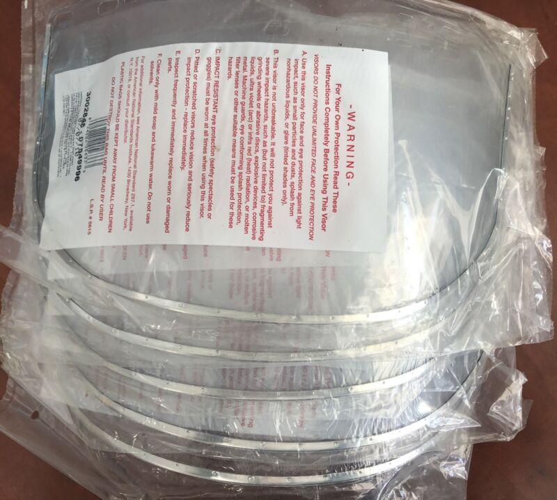 "(5) Jackson Safety Face Shield 3002848 07549996 15.5"" x 9"" x .040 Aluminum Bound"