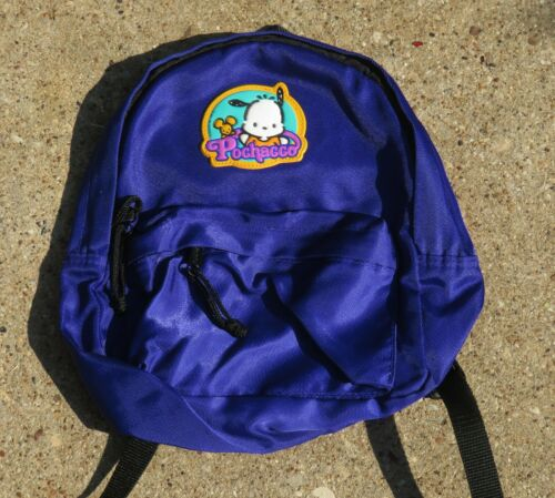Vintage Sanrio Pochacco Mini Backpack Bag Pre Owned 1996 90s Rare