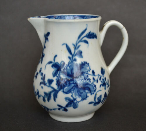Early Worcester Mansfield Pattern Jug circa 1760