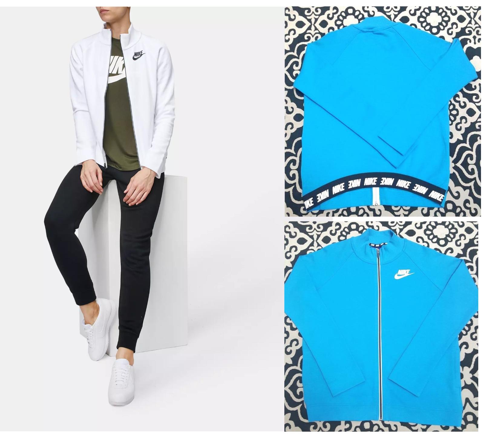 ec4613166b26 Nike Women s Sportswear Advance 15 Jacket 857414 Turquoise Black Sz ...