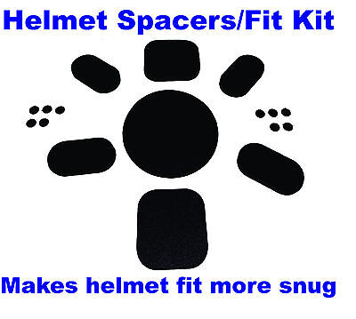 NEW FOR USGI MILITARY ACH MICH HELMET 7 PADS FIT KIT ADJUST SET