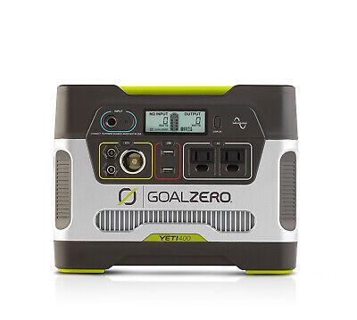 Goal Zero Yeti 400 Portable Power Station, 396Wh Lead Acid Battery, AC, USB, 12V