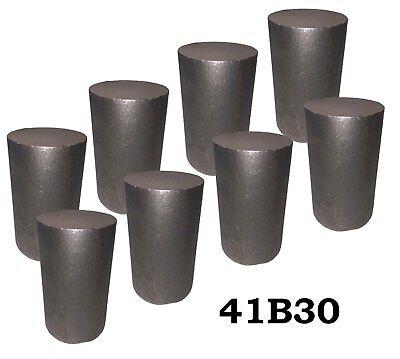 2.75 Round 4130 Steel Alloy Boron Rolled Bar Billets 8 3-4 Long 41b30 Hl