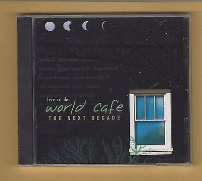 Wxpn Live At The World Cafe  The Next Decade  Npr 2002 Sealed Cd Coldplay Byrds