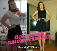 21-day Summer Slim-down challenge