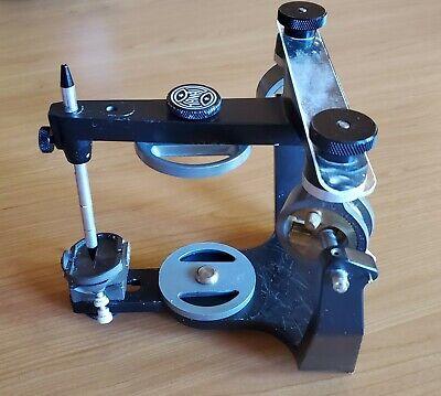 Whip Mix Hanau Wide-vue Semi-adjustable Articulator Good Condition