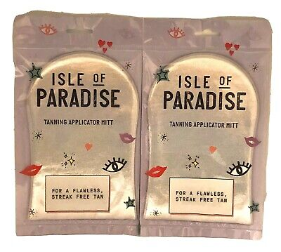Isle of Paradise Tanning Applicator Mitt For A Flawless Streak FreeTan(2 PACKS)