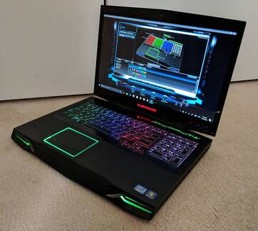 Alienware M17X R4 - 3D Gaming Laptop - i7, GTX 675M, SSD + HDD