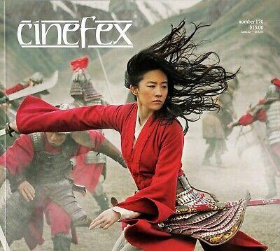 CINEFEX #170 w/ MULAN + 1917 + WATCHMEN + NEW MUTANTS + UNDERWATER Mint NEW!