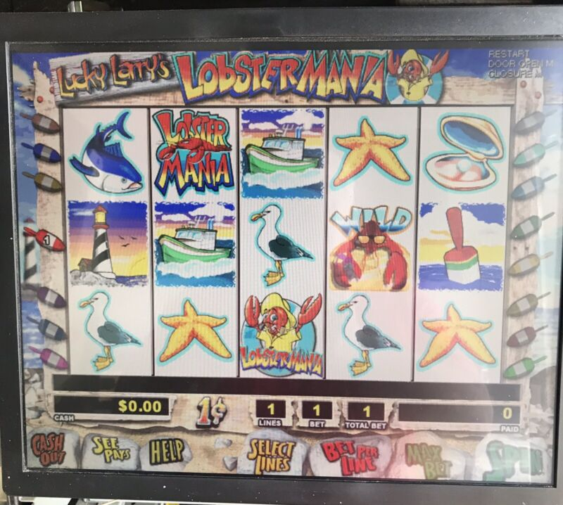 IGT I Game With Lucky Larry Lobster mania Game And 3902 Processing Board.